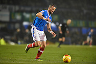 Portsmouth Forward, Noel Hunt (20) goal scorer of Portsmouths 2nd goal during the EFL Sky Bet League 2 match between Portsmouth and Mansfield Town at Fratton Park, Portsmouth, England on 12 November 2016. Photo by Adam Rivers.