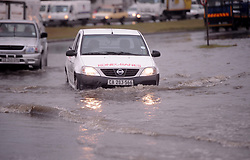 South Africa Cape Town  2020 May 28 Trucks and cars struggling in Epping. Cape weather raining cape town residents  feel cold and rain as winter season starts   Photographer Ayanda Ndamane African news agency/ANA