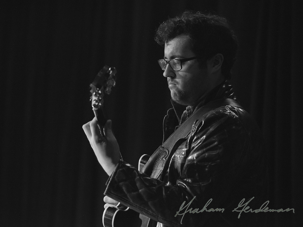 """Virtuoso guitarist James DaSilva performs with David Liebman, Jeff Coffin, and an all-star rhythm section at the saxophonists' tribute to Miles Davis's """"On the Corner"""" sessions, live at Nashville's 3rd and Lindsley."""