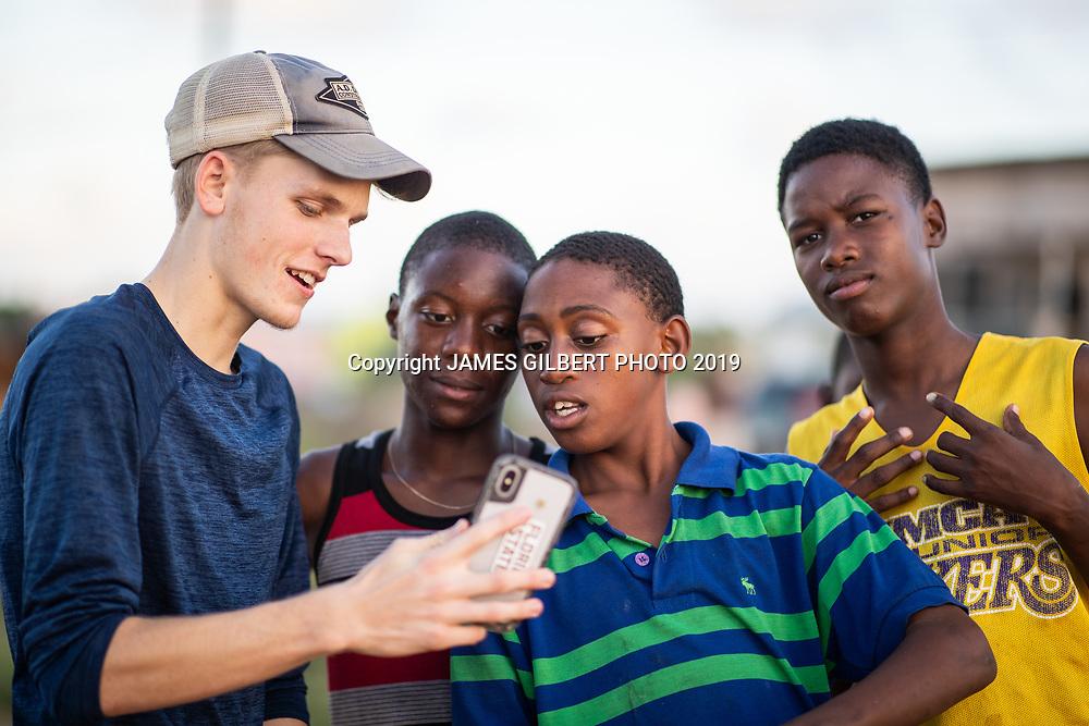 Matt Davis <br /> <br /> St Joe mission trip to Belize 2019. JAMES GILBERT PHOTO 2019
