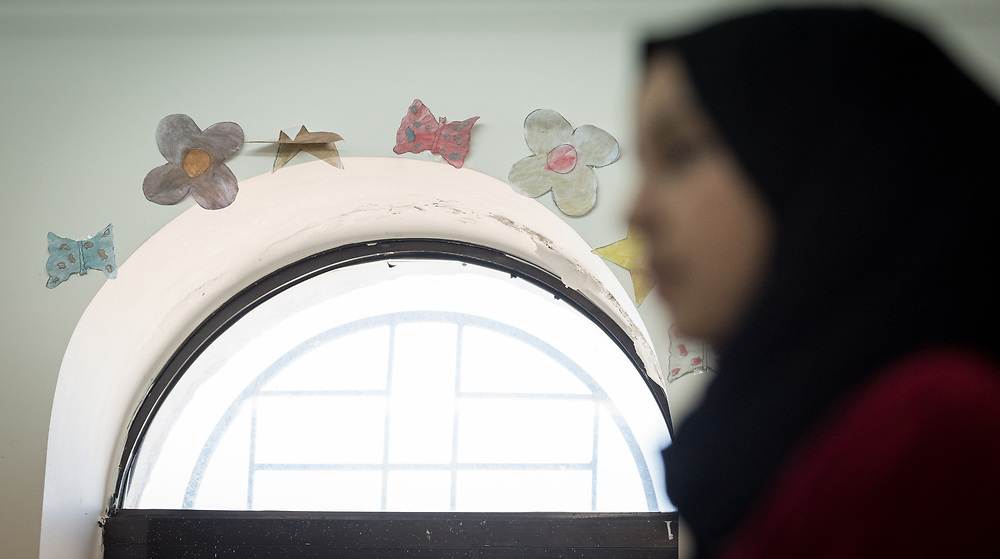 16 February 2020, Irbid, Jordan: Psychosocial support session for Syrian refugee children and Jordanian host communities, led by the Lutheran World Federation at the Islamic Centre in Al-Mazar.