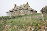 St Non's chapel St Davids Pembrokeshire Wales