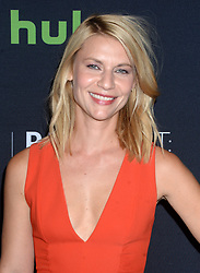 Claire Danes attending the PaleyFest New York Homeland screening and panel discussion at The Paley Center for Media on October 6, 2016 in New York City, NY, USA. Photo by Dennis Van Tine/ABACAPRESS.COM  | 566081_007 New York City Etats-Unis United States
