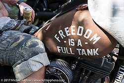 Born Free 9 Motorcycle Show at Oak Creek Ranch. Silverado, CA. USA. Saturday June 24, 2017. Photography ©2017 Michael Lichter.