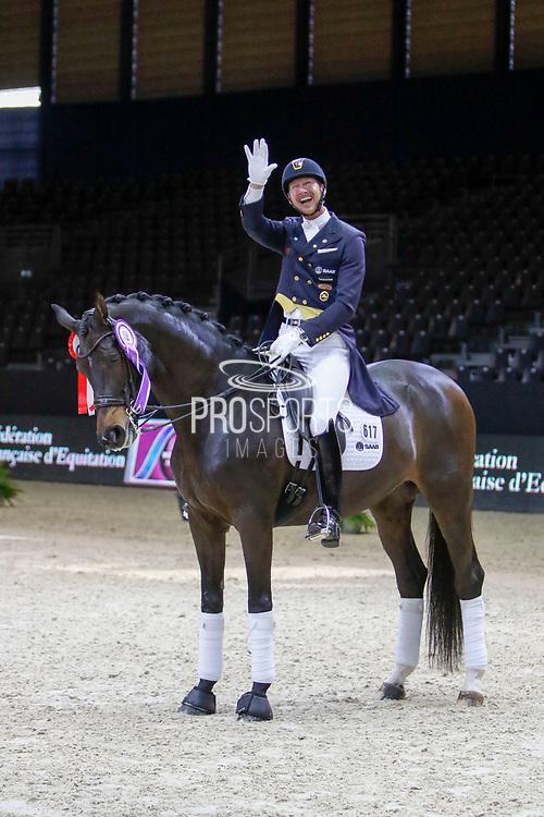Patrik Kittel on Deja during the Equestrian FEI World Cup Dressage Lyon 2017 on November 2, 2017 at Eurexpo Lyon in Chassieu, near Lyon, France - Photo Romain Biard / Isports / ProSportsImages / DPPI