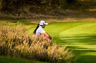 01-09-2016 Golffoto's van het Nationaal Open op de Hilversumsche Golf Club in Hilversum. Finale.  Zhen Bontan zit er doorheen