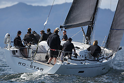 Peelport Clydeport, Largs Regatta Week 2014 Largs Sailing Club based at  Largs Yacht Haven.<br /> GBR8038R, Roxstar, XP38i, Findlay/Anderson, CCC