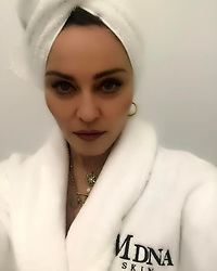 """Madonna releases a photo on Instagram with the following caption: """"If Frida Khalo used MDNA skin  products! \ud83e\udd21\ud83d\udd25\u2665\ufe0f Coming to America soon! \ud83c\uddfa\ud83c\uddf8\u2665\ufe0f\ud83d\udcaf. @mdnaskin"""". Photo Credit: Instagram *** No USA Distribution *** For Editorial Use Only *** Not to be Published in Books or Photo Books ***  Please note: Fees charged by the agency are for the agency's services only, and do not, nor are they intended to, convey to the user any ownership of Copyright or License in the material. The agency does not claim any ownership including but not limited to Copyright or License in the attached material. By publishing this material you expressly agree to indemnify and to hold the agency and its directors, shareholders and employees harmless from any loss, claims, damages, demands, expenses (including legal fees), or any causes of action or allegation against the agency arising out of or connected in any way with publication of the material."""