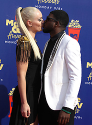 2019 MTV Movie and TV Awards - Arrivals. 15 Jun 2019 Pictured: Lindsey Vonn, PK Subban. Photo credit: MEGA TheMegaAgency.com +1 888 505 6342