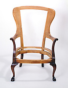 Handmade wooden chair frame