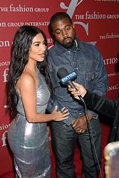 FGI's Night of Stars Gala Cipriani Wall Street, NY. 24 Oct 2019 Pictured: Kanye West, Kim Kardashian. Photo credit: RCF / MEGA TheMegaAgency.com +1 888 505 6342