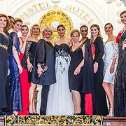 NLD/Amsterdam/20170326 - Pr. Margarita en Sheila de Vries presenteren nieuwe sieradencollectie, met alle modellen oa, Nadia Palesa en Yasmine Verheijen