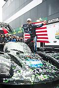 January 24-27, 2019. IMSA Weathertech Series ROLEX Daytona 24. #10 Konica Minolta Cadillac DPi-V.R. Cadillac DPi, DPi, Jordan Taylor wins the 57th Daytona 24h