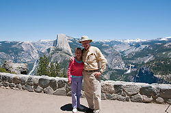 Photojournalists Lee Foster, Ann Purcell, Photographers, Washburn Point near Glacier Point, Yosemite National Park, California, USA.  Photo copyright Lee Foster.  Photo # california122320