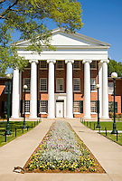 OXFORD, MS - APRIL 12:   The Lyceum, oldest building on the campus of the University of Mississippi on April 12, 2008 in Oxford, Mississippi.  (Photo by Wesley Hitt/Getty Images) *** Local Caption ***