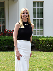 Ivanka Trump poses in front of the West Wing at the White House, on July 20, 2017 in Washington, DC. Photo by Olivier Douliery/ Abaca