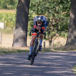 13-09-2020: Wielrennen: NK tijdrijden nieuwelingen en junioren: Chaam <br />Jelmer Abma