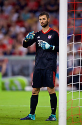 MUNICH, GERMANY - Tuesday, August 1, 2017: FC Bayern Munich's goalkeeper Sven Ulreich during the Audi Cup 2017 match between FC Bayern Munich and Liverpool FC at the Allianz Arena. (Pic by David Rawcliffe/Propaganda)
