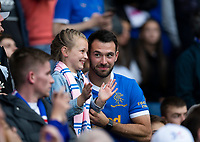 Football - 2021 / 2022 UEFA Europa League - Qualifying - 1st Leg - Glasgow Rangers vs Alashkert - Ibrox Stadium<br /> <br /> Rangers fans are seen before the game<br /> <br /> Credit: COLORSPORT/Bruce White