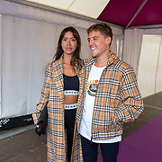 NLD/Amsterdam/20180616 - 26ste AmsterdamDiner 2018, Lil Kleine en partner Jamie Vaes