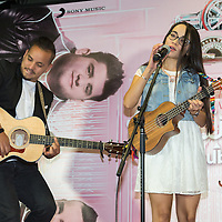Mexico, D.F. 09/06/2015. Sony Music. Showcase de Matisse, trio mexicano de cantautores, quienes presentaron su mas reciente produccion musical titulada Sube. Matisse