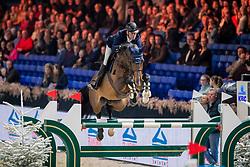 Hendrickx Dominique, BEL, Castor vh Molenhof Z<br /> Jumping Mechelen 2019<br /> © Hippo Foto - Dirk Caremans<br />  26/12/2019