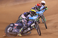 Fredrik Lindgren during the 2019 Adrian Flux British FIM Speedway Grand Prix at the Principality Stadium, Cardiff, Wales on 21 September 2019.
