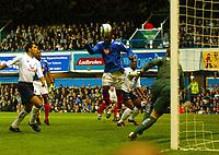 Fotball<br /> Premier League England 2004/2005<br /> 18.10.2004<br /> Foto: BPI/Digitalsport<br /> NORWAY ONLY<br /> <br /> Portsmouth v Tottenham Hotspur<br /> <br /> Ayegbeni Yakubu heads in the opener for Portsmouth