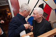 DOUGLAS BAXTER; MICHAEL CRAIG-MARTIN, Dinner to celebrate the opening of Pace London at  members club 6 Burlington Gdns. The dinner followed the Private View of the exhibition Rothko/Sugimoto: Dark Paintings and Seascapes.
