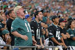 2017 Philadelphia Eagles at Los Angeles Rams at Los Angeles Coliseum on December 10, 2017 in Los Angeles, California. (Photo by Hunter Martin/Philadelphia Eagles)