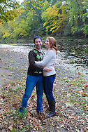 10/14/12 9:28:02 AM - Newtown, PA.. -- Amanda & Elliot October 14, 2012 in Newtown, Pennsylvania. -- (Photo by William Thomas Cain/Cain Images)
