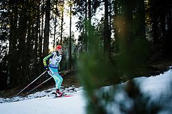 Olga Abramova (UKR) during Women 12.5 km Mass Start at day 4 of IBU Biathlon World Cup 2015/16 Pokljuka, on December 20, 2015 in Rudno polje, Pokljuka, Slovenia. Photo by Ziga Zupan / Sportida