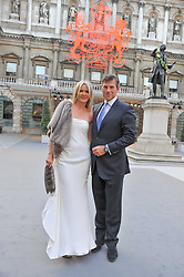 AMANDA WAKELEY and HUGH MORRISON at the Royal Academy of Arts Summer Exhibition Preview Party at Burlington House, Piccadilly, London on 2nd June 2011.