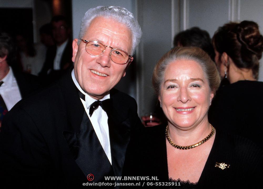 Nieuwjaarsreceptie Strengholt 1997, Paul van Gorkum en vrouw Lenie