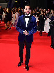 Pete Wicks attending the National Television Awards 2018 held at the O2 Arena, London. PRESS ASSOCIATION Photo. Picture date: Tuesday January 23, 2018. See PA story SHOWBIZ NTAs. Photo credit should read: Ian West/PA Wire