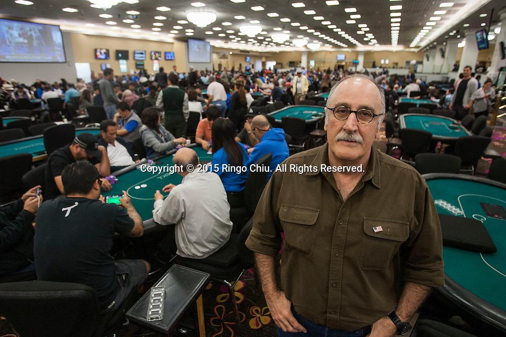 Haig Papaian, CEO of Commerce Casino. (Photo by Ringo Chiu)