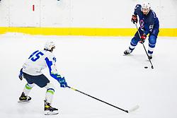 Chakiachvili Florian of France during match at Beat Covid 19 IIHF Tournament 2021 between national teams of Slovenia and France in Hala Tivoli on 17th of May, 2021, Ljubljana, Slovenia . Photo By Grega Valancic / Sportida