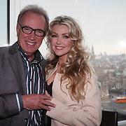 NLD/Amsterdam/20150324 -  boekpresentatie Het Grote Songfestival boek, Edvard Niessing en Brigitte Nijman