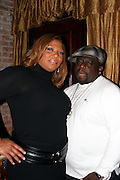 Queen Lafifah & Cedric the Entertainer.ìDreamgirlsî Premiere Post Party.Gin Lane Restaurant.New York, NY, USA .Monday, December 04, 2006.Photo By Selma Fonseca/ Celebrityvibe.com.To license this image call (212) 410 5354 or;.Email: celebrityvibe@gmail.com; .Website: http://www.celebrityvibe.com/. ....