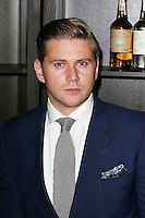 Allen Leech, Cindy Crawford  'Becoming' book & Casamigos Tequila - launch party, The Beaumont Hotel, London UK, 01 October 2015, Photo by Richard Goldschmidt