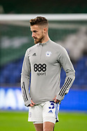 Cardiff City's Joe Bennet (3) during the pre-match warm-up at the EFL Sky Bet Championship match between Cardiff City and Birmingham City at the Cardiff City Stadium, Cardiff, Wales on 16 December 2020.