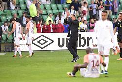 May 6, 2018 - Nantes, France, France - Michel Der Zakarian - entraineur (Montpellier) applaudissant les supporters de Nantes qui l avaient acclame auparavent (Credit Image: © Panoramic via ZUMA Press)