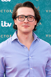 © Licensed to London News Pictures. 11/08/2016. DAVID OAKES attends the VIP press screening of Victoria. The ITV series traces the early life of Queen Victoria, from her accession to the throne at the tender age of 18 through to her courtship and marriage to Prince Albert.  London, UK. Photo credit: Ray Tang/LNP