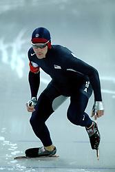 11-02-2006 SCHAATSEN:OLYMPISCHE WINTERSPELEN: 5000 METER HEREN: TORINO<br /> Chad Hedrick<br /> ©2006-Ronald Hoogendoorn