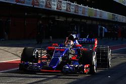March 7, 2017 - Barcelona, Cataluna, Spain - Motorsports: FIA Formula One World Championship 2017, Test in Barcelona,.Daniil Kwjat (RUS, Scuderia Toro Rosso) (Credit Image: © Hoch Zwei via ZUMA Wire)