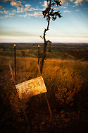 The best area for mobile phone reception in the landscape of the Pilbara region in the north west of Western Australia