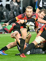 Rugby Union - 2019 / 2020 Guinness Pro14 - Ospreys vs. Southern Kings<br /> <br /> \9\ passes the ball out, at The Liberty Stadium.<br /> <br /> COLORSPORT/WINSTON BYNORTH