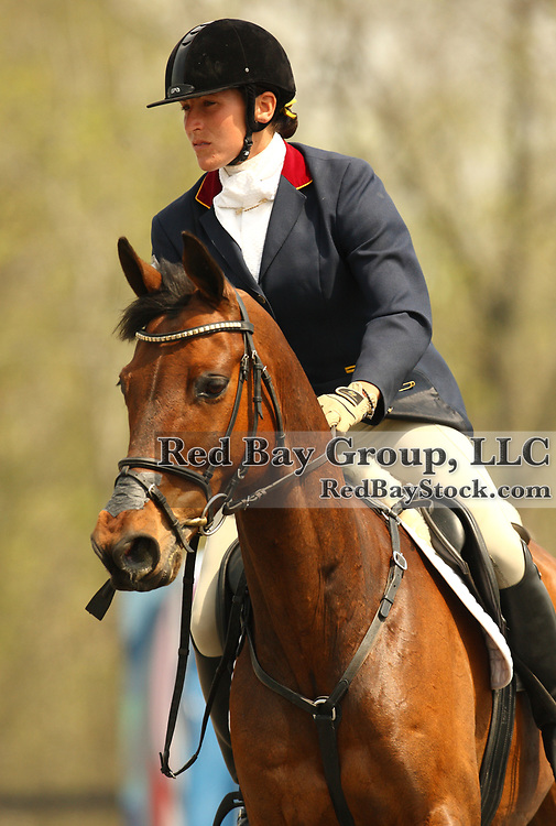 Laine Ashker and Anthony Patch at The Fork Horse Trials in Norwood, North Carolina.