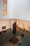Atrium of the Museum of Modern Art or MOMA in New York City, USA. David and Peggy Rockefeller Gallery Building