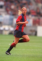 Emmanuel Petit - Barcelona. Barcelona v Lazio. The Amsterdam Tournament. Amsterdam Arena, 5/8/2000. Credit: Colorsport / Stuart MacFarlane.